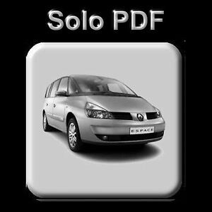 renault espace iv manual de taller workshop manual manuel rh ebay ie renault espace iv service and repair manual renault espace 4 workshop manual