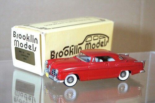 Brooklin modelos Brk 19 1955 Chrysler 300 C C300 Coupe rosso Perfecto En Caja Mq