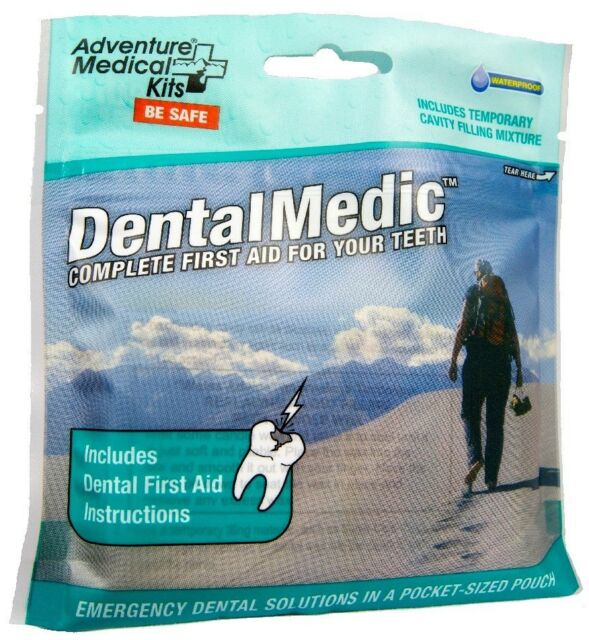 Adventure Medical Kits Dental Medic - First Aid for Teeth - Oral Emergency kit