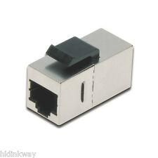 (4pcs/pack) RJ45 CAT6 Keystone Extension Adapter Shielded for Blank Patch Panel
