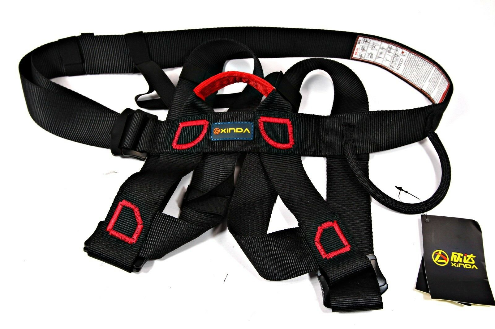 Zip Line Safety Harness For Adults + Kids Sport Climbing