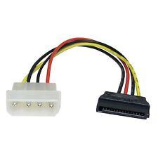 4 Pin Molex Macho A Conector De Alimentación Sata Multicolor Interior 0,2 m de cable