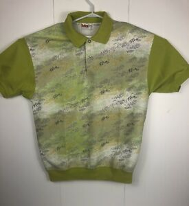 Popeye-king-features-syndicate-popeye-mens-polo-shirt-vintage-in-euc-Camp