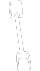 Genuine Ford Trailing Arm BB5Z-5500-A