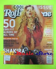 ROLLING STONE USA MAGAZINE 893/2002 Shakira Apolo Ohno Alanis Morissette No cd