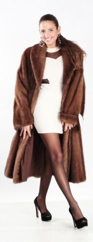Xl14 Coat L Nieuwe van Elsafur echtheid Fur Mink Maten certificaat 16Met PXZTkwOiu