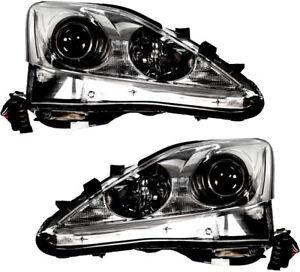 lexus is 250 xenon lights