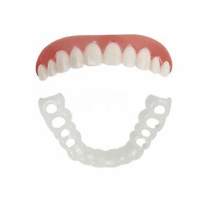 Pair-of-Fits-All-Flex-Teeth-Top-amp-Bottom-Cosmetic-Veneer-Perfect-Smile