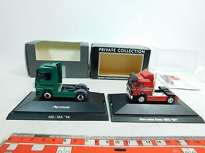 100% Quality Ax688-0, 5 #2x Herpa H0 (1:87) Tractor Mb: 110099 + B 6 600 0306, Nip Profit Small