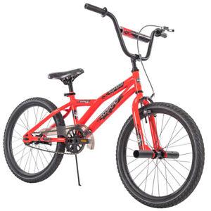 Huffy-BMX-Kids-Boy-039-s-Bike-20-inch-Shockwave-Red-NEW