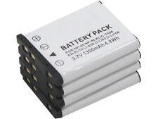 new 4pcs NP-45 Battery for FinePix XP10 XP11 XP15 XP20 XP22 XP30 XP31 XP50 XP60