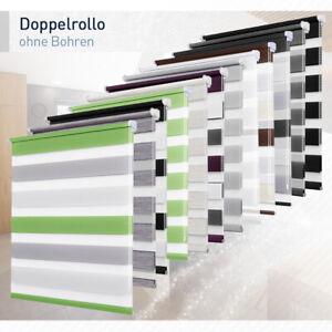 Doppelrollo-Duo-Rollo-Klemmfix-ohne-Bohren-fuer-Fenster-und-Tuer-Fensterrollo