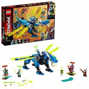 LEGO?71711?Ninjago Jay's?Cyber?Dragon Set,?with?Jay,?Nya?and?Unagami?Minifigs