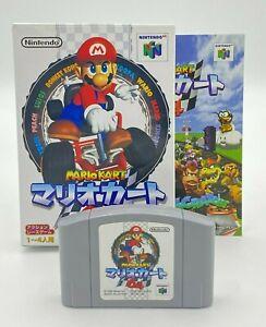 Nintendo 64 Mario Kart 64 Japanese Version N64 Boxed ref210621