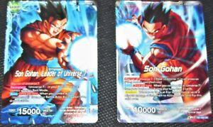 BT1-034 x4 4x Cards Dragon Ball Super CCG Mint Mighty Striker Son Gohan