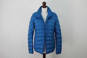 UNIQLO-Blue-Down-Lightweight-Puffer-Jacket-size-M