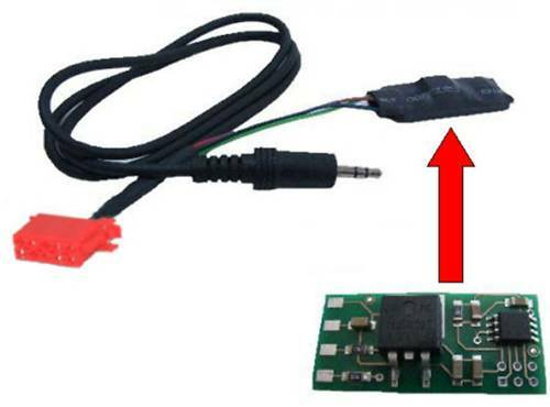 Line IN Aux Interface Adapter VW Golf 2 3 Polo 6N iPod