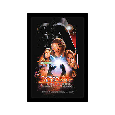Star Wars Revenge Of The Sith 11x17 Framed Movie Poster By Wallspace 5050293802244 Ebay