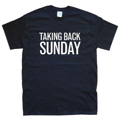 White TAKING BACK SUNDAY new T-SHIRT sizes S M L XL XXL colours Black