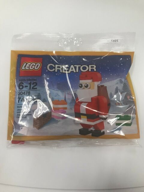 Lego 30478 Christmas Creator Santa Claus Poly Bag Brand New Sealed Gift Seasonal