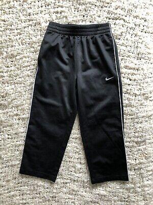 Intelligent Nike Youth Boys Girls Black White Track Pants Athletic 5
