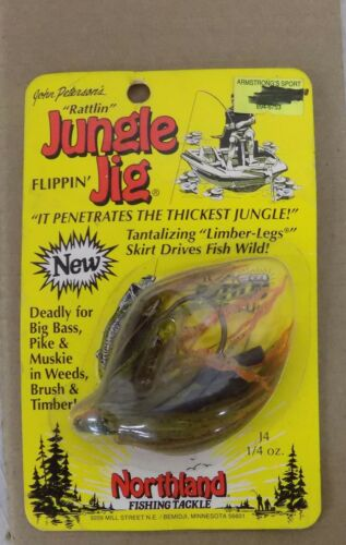 NIP Northland Jungle Jig 1//4z 5//8z Vintage USA Select One