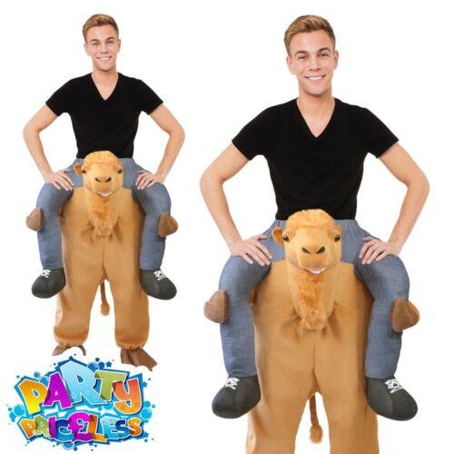 Adult Ride On Camel Costume Lift Me Up Animal Christmas Nativity Fancy Dress