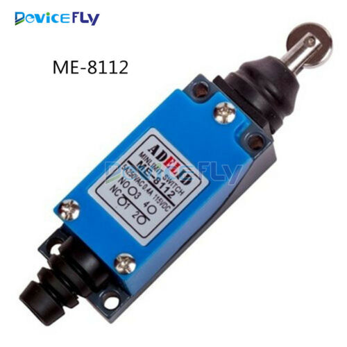 ME-8112 2NC 2NO Parallel Roller Plunger Actuator Limit Switch AC 250V