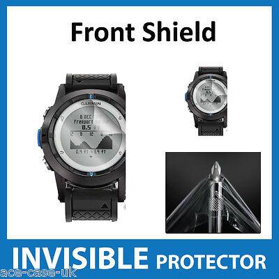 Garmin Quatix Invisible Front Screen Protector Shield - Military Grade Eine GroßE Auswahl An Farben Und Designs