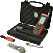 Extech 14 To 140f 0 To Humidity Range Psychrometer Hd500
