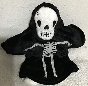 Image is loading Ty-Beanie-Babies-Creepers-Skeleton-9-034-VGC-