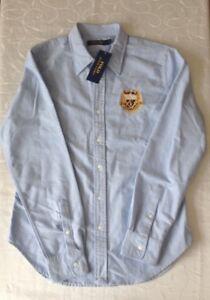 Polo-Golf-Ralph-Lauren-Women-039-s-Long-Sleeve-Shirt-Size-US10-UK14