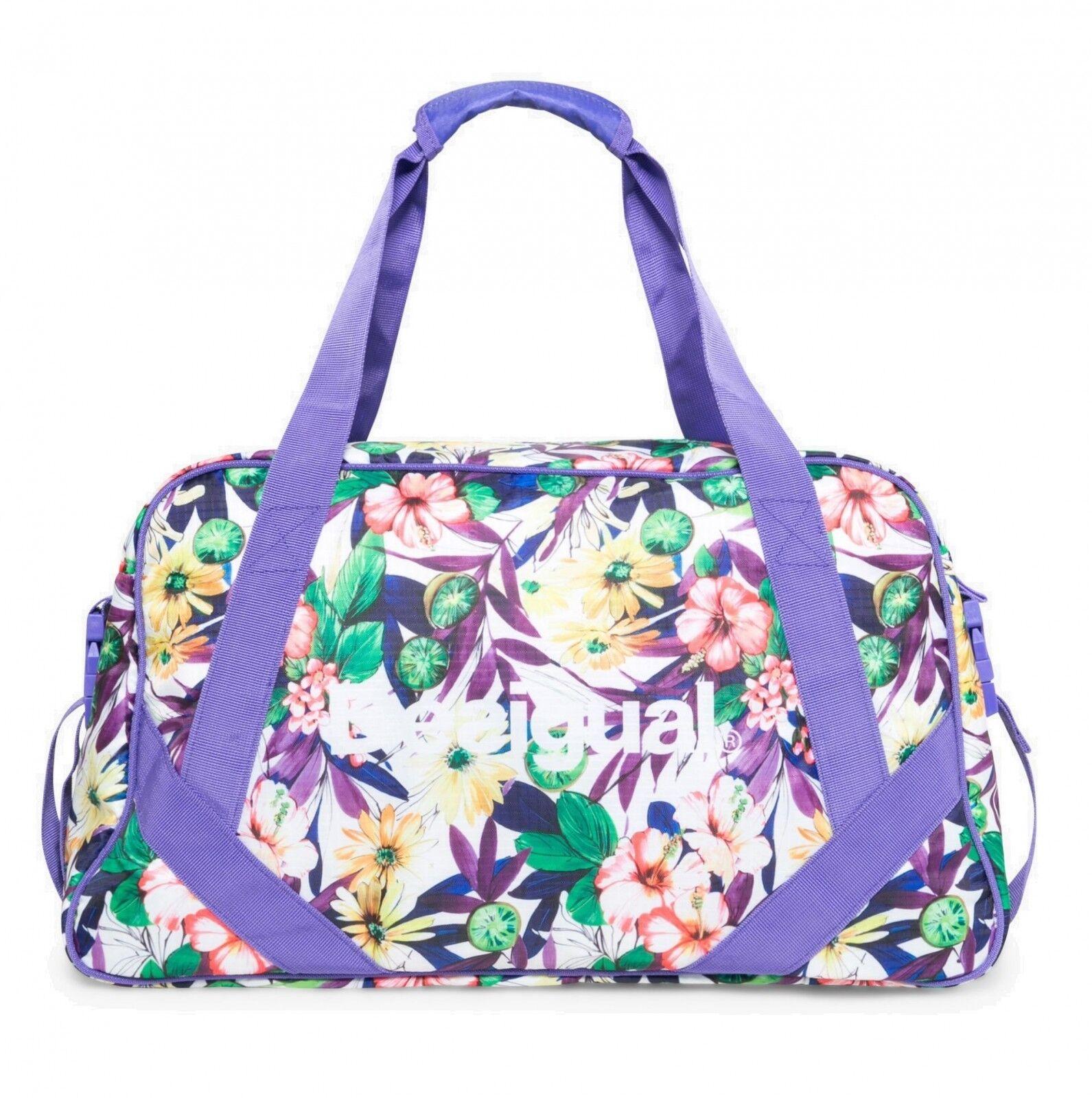 Desigual Travel Bag Bols L G Purple Opulence