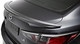 2017 Yaris Ia Rear Spoiler Wind Deflector Factory Painted
