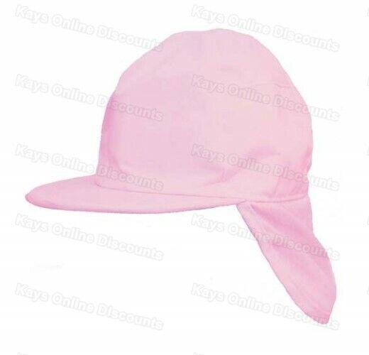 d5e473b61 Childrens Sun Hat Baby Toddler Girls Boys Legionnaire Summer Cap Uv  Protective
