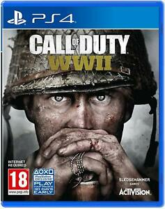 Call-of-Duty-Weltkrieg-2-WWII-ps4-neuwertig-Super-schnell-amp-QUICK-Lieferung-frei