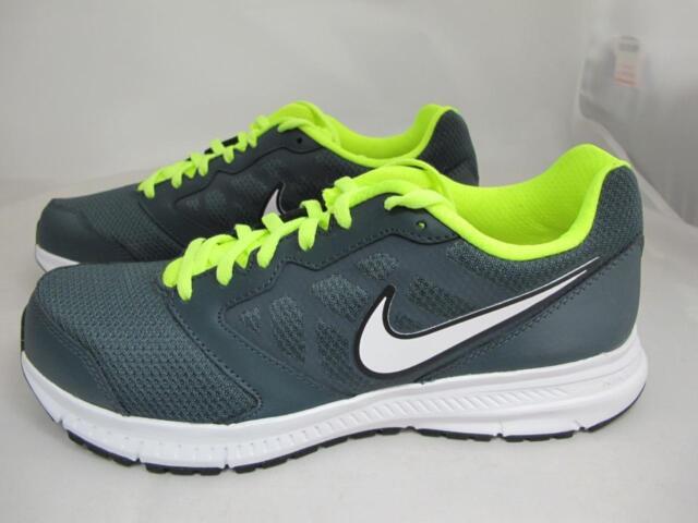 9ead2a1befe07 Nike Downshifter 6 Mens 684652-002 Dark Grey Volt Athletic Running ...