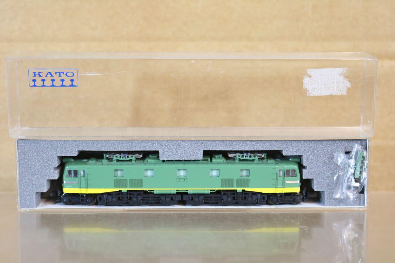 Kato 3039 Jr Jnr Clase verde EF58 Eléctrico Locomotoras Menta en Caja Nr