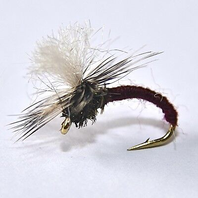 BROWN KLINKHAMMER Dry Trout Fishing Flies various options by Dragonflies