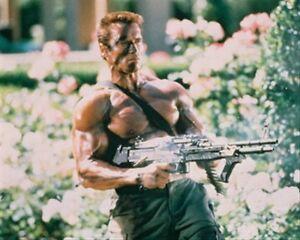 Arnold-Schwarzenegger-Como-John-MATRI-estampado-Cartel-61x50-8cm-BUEN-FOTO