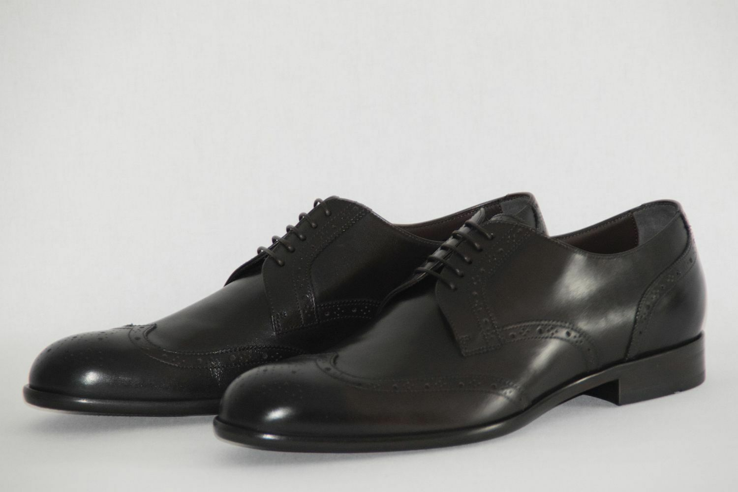 HUGO BOSS Business Chaussures, in Taille UE 42//US 9, Made in Chaussures, Italy, Dark Brown 9b28a1