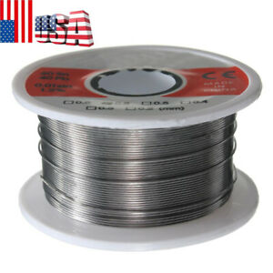 1PC 0.5mm 50G Solder Wire 60//40 Rosin Core Flux 1.2/% Tin Lead Roll Soldering