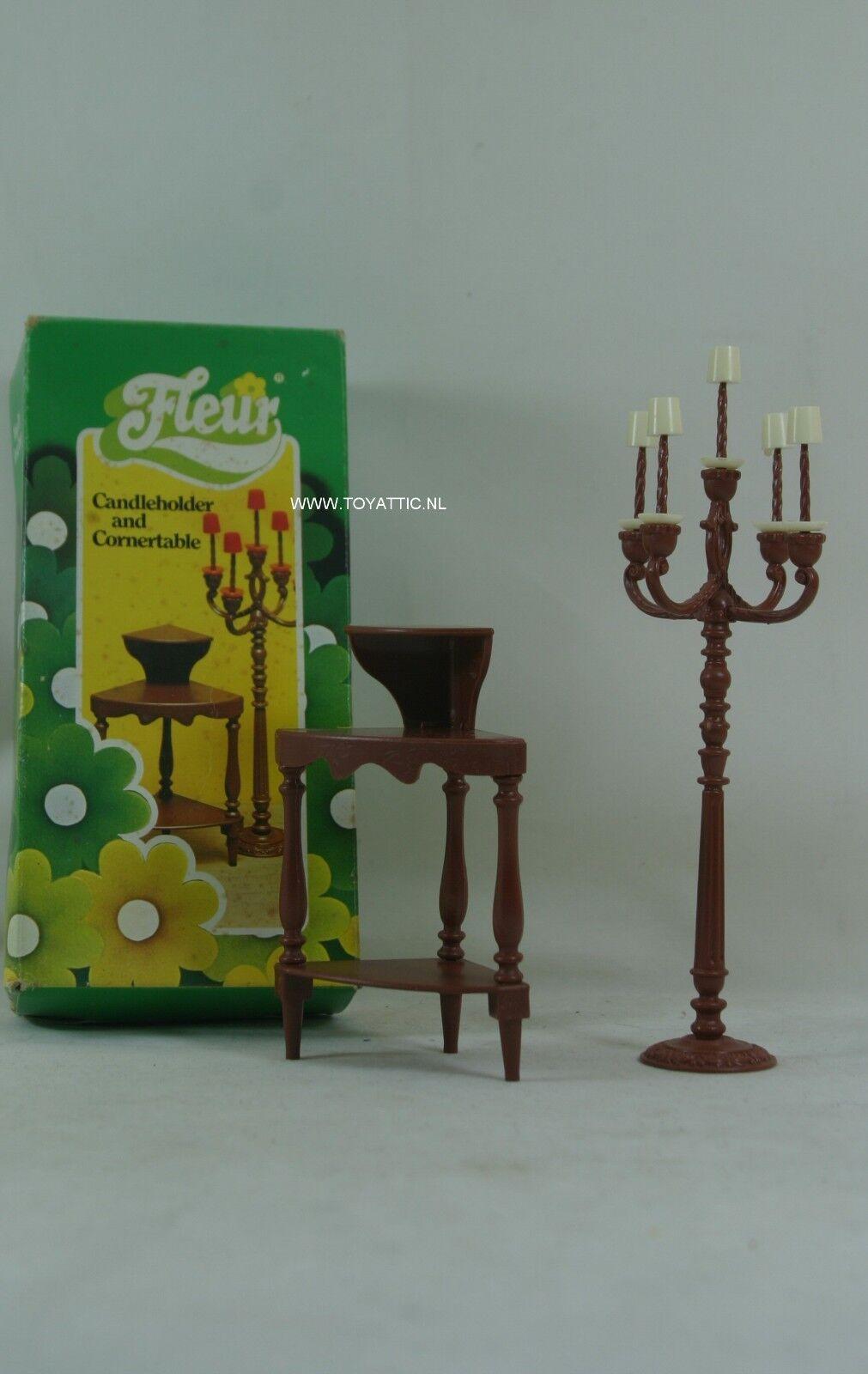 Fleur (holandés Reloj De Tamaño Barbie Sindy) Juego de Muebles nunca quitado de la caja  Raro