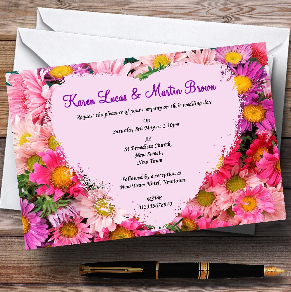 Bienvenue dans la nouvelle boutique boutique nouvelle en trois étapes pour célébrer les quatre auspicieux Joli rose fleurs mariage invitations personnalisées 21da8c