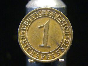 - M.f.b - Weimarer Republik - 1 Reichspfennig 1930 E In Vz Top 369