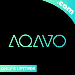 AQAVO-com-is-A-Cool-5-Letter-Brandable-Domain-Name-for-Sale-LOGO