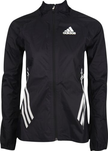 adidas Adizero Performance Rain Womens Running Jacket Black