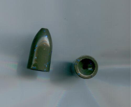 5 Stück Saphire Pumpkin Tungsten Bullet Weight