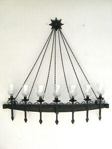 Gothic Iron Medieval Candelabra