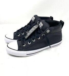 Details about Converse Chuck Taylor Mid Street Sneakers - Black Men's 145422C Multiple sizes